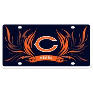 NFL Team Graphics Flames License Plate Vanity Tag