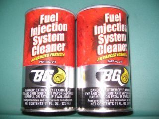 BG Fuel Injection System Cleaner 210 Case of 24 Cans