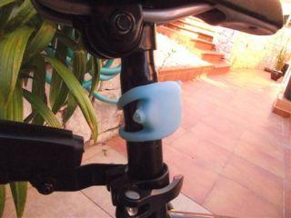 Dos Bici Luces LED Linternas Bicicleta Silicona Sin Instalar Pilas