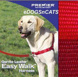 Gentle Leader Easy Walk Harness Dog Red Medium Large