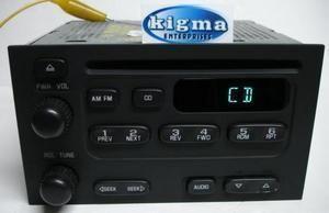 Geo Tracker 00 04 Prizm 00 02 Chevy Metro 00 01 CD player radio TESTED