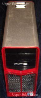 OEM Dell XPS 630 630i Full Tower Case PP088 Red Grade C