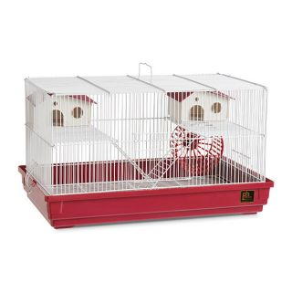 Prevue Pet Products Deluxe Hamster Gerbil Cage Bordeaux Red