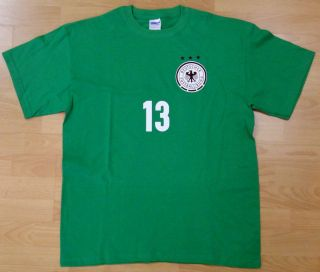 German National Team T Shirt Germany Soccer DFB Thomas Müller 13