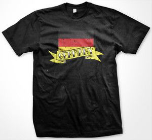 Germany Soccer T Shirt Country Pride Flag Football Tee