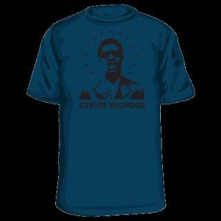 Stevie Wonder Tshirt Soul Funk R B Motown Music Vintage
