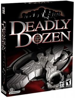 Deadly Dozen WWII Mission World War 2 PC New CD ROM Game