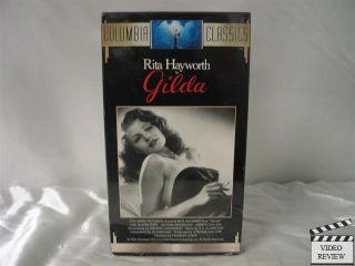 Gilda VHS Rita Hayworth Glenn Ford George Macready 043396601949