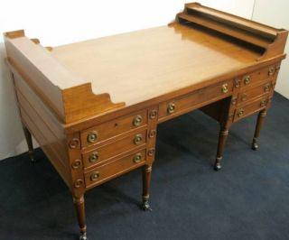 Partners Desk Mahogany Imperial Furniture Company Pickup s CA
