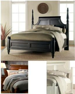 Thomasville Furniture Felicity Reversible Wood Cain King Panel Bed