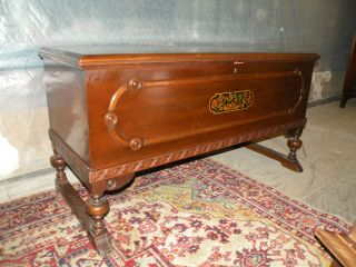 Antique Bedroom Furniture Cedar Blanket Hope Chest West Branch
