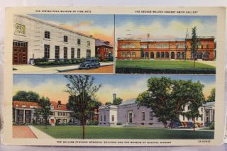 Kentucky KY Louisville George Rogers Clark Bridge Postcard Old Vintage