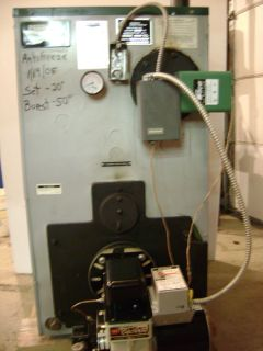 Peerless Cast Iron 300 000 BTU Oil Fired Boiler
