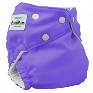 Fuzzi Bunz One Size Pocket Diaper Grape Cloth Diapers Purple Diapers