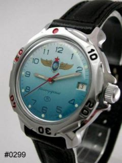 Russian Military VOSTOK Air Force Watch 0299 New