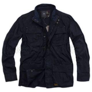 Star Raw Jacket Overshirt Army Delta Coat Navy Vest Size XL RRP $219