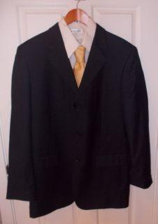 Jones New York Cashmere Wool 3 Button Blazer Size 42 L