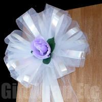 10 Lavender Lilac Pull Bows Ribbon Gift Basket Party Balloons Ribbon