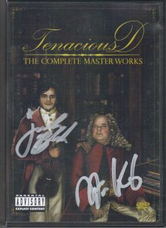 The Complete Masterworks 2 DVD Autograph Jack Black Kyle Gass