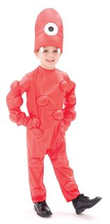 Yo Gabba Gabba Muno Costume Toddler Boy 2T *New*