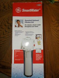 GE SmartWater GXWH20F Whole House Water Sediment Filter