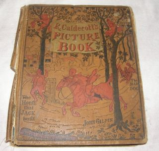 Caldecotts Picture Book Mad Dog John Gilpin Jack McLoughlin Bros 1800s