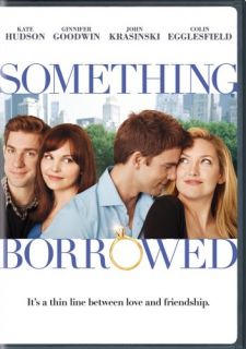 Something Borrowed New SEALED DVD Kate Hudson