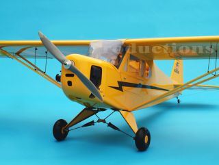 Giant Scale J3 Piper Cub 120 91 Wing Span Scale RC Airplane Awesome