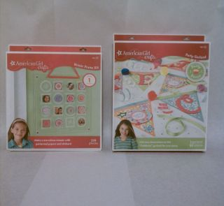 American Girl Crafts Kits Mosaic Frame Kit Party Celebrate Garland