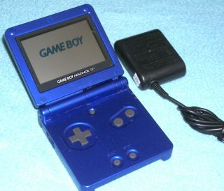 BLUE Nintendo Game Boy Advance SP System Charger GameBoy GBA