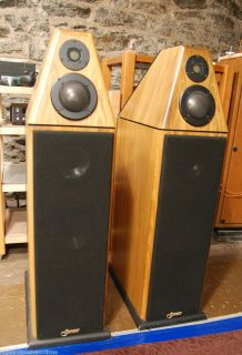 Genesis V Full Range Audiophile Speakers 15 000 MSRP Wilson Audio