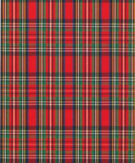 Scottish Tartan Gift Wrapping Paper Large 30 Roll