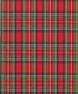 Scottish Tartan Gift Wrapping Paper Large 30 Roll