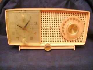 Vintage General Electric Clock Radio Alarm Clock