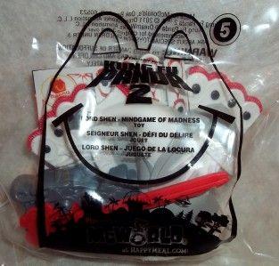 2011 MC Donalds Kung Fu Panda 2 Lord Shen 5 Mindgame of Madness