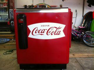 Glasco GBV 50 Slider Coca Cola Coke Soda Machine