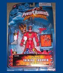 Power Rangers Dino Thunder Red Triassic Talking Action Figure New