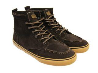 Generic Surplus Obey Mens High Top Suede OM23HT02 Earth Brown Sneakers