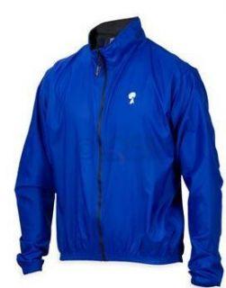 Mens Gannett Breathable Windbreaker Cycling Jacket Blue