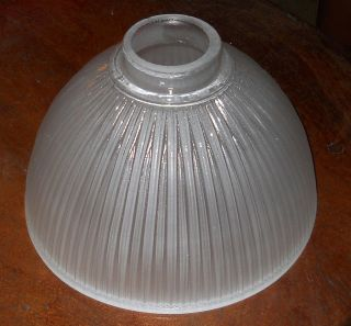 Beautiful Vintage Frosted Glass Lamp Shade
