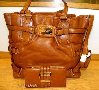 New Michael Kors Gansevoort LG Tote Handbag Bag Luggage