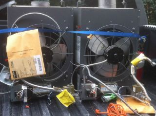 000 BTU Overhead Garage Heaters Natural Gas Fuel Trimmer 3E368E