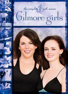 Gilmore Girls The Complete Sixth Season DVD 2006 6 Disc Set