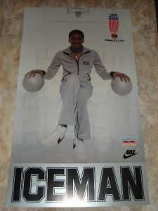 San Antonio Spurs George Iceman Gervins NBA 1996 Hall of Fame Nike