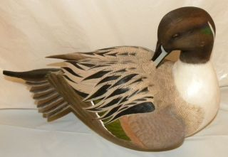PINTAIL DUCK DECOY BY GEORGE KRUTH EXCLUSIVELY THE DANBURY MINT w/ COA