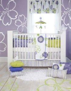 Glenna Jean Sweet Potato Lulu 6 PC Crib Bedding Set