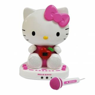 New Hello Kitty KT2007 CDG Karaoke System with Built in Video Camera