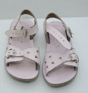 Girls Salt Water Pink Sandals Shoes Toddler Size 8