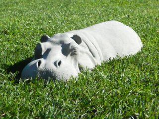 Hippopotamus Garden Ornament 17 Sculpture Statue Gardening Outdoor