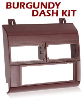 GM GMC Chevy Truck Pickup 88 94 Burgundy Radio Dash Kit